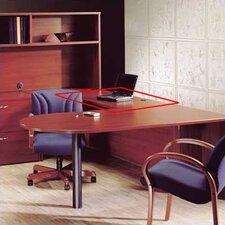 "Hyperwork 29"" H x 48"" W Desk Bridge"
