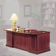 Bedford Executive Desk with Single Pedestal