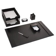 Econo-Line Leather 8 Piece Desk Set