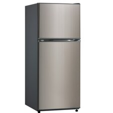 Midea 12 cu. ft. Top Freezer Refrigerator in Stainless Steel