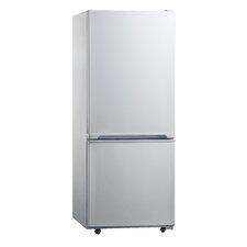 Midea 10 cu. ft. Bottom Freezer Refrigerator in White