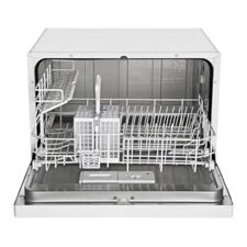 "Midea 21.7"" 53dBA Compact Dishwasher in White"