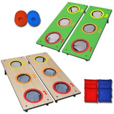 14 Piece Washer Toss & Cornhole Game Set