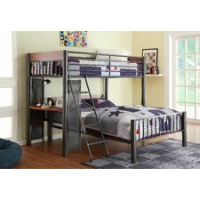 Division Twin Over Full Loft Bed