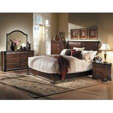 Karla Sleigh Customizable Bedroom Set