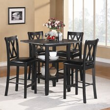 Norman 5 Piece Counter Height Dining Set
