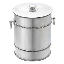 Heritage Banded Bead Ice Bucket
