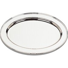 "Silver Plated 22"" Oval Tray"