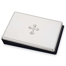 Silver Plated Giftware Cross Book Photo Album