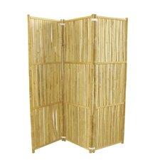 "68.9"" H x 59.1"" W 3 Panel Room Divider"