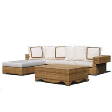 Hollywood 3 Piece Deep Seating Group with Cushions
