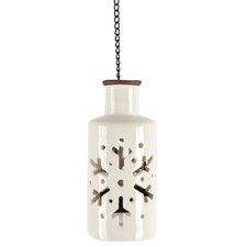 Round Snowflake Hanging Lantern (Set of 2)