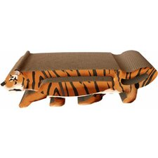 Scratch 'n Shapes 2 Piece Tiger Recycled paper Scratching Board