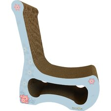 Scratch 'n Shapes 2 Piece Easy Chair Set Recycled paper Scratching Post
