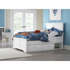Walnut Street Devon Raised Panel Customizable Bedroom Set