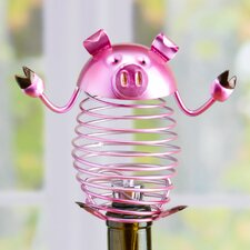 Figurine Pig Wine Bottle Stopper