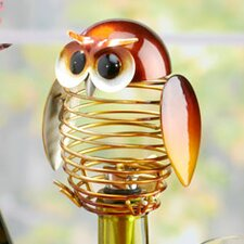 Figurine Owl Wine Bottle Stopper