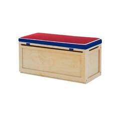 Toy Storage Box with Seat Pad
