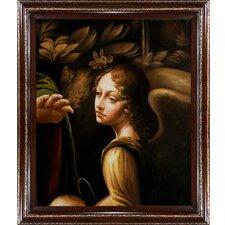 "The Virgin of The Rocks Canvas Art by Leonardo Da Vinci Classical - 35"" X 31"""