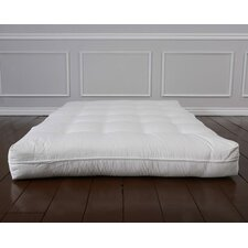 "Luxury Cotton 8"" Foam Core Futon Mattress"