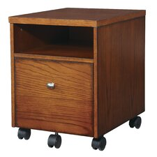 Aurora 1 Drawer Mobile File Cabinet