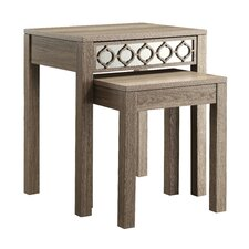 Helena 2 Piece Nesting Table Set