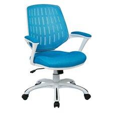 blue mesh office chairs wayfair
