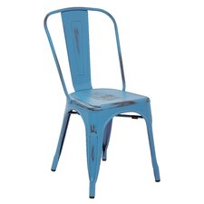Bristow Armless Stacking Chair (Set of 4)