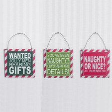 Hanging Tile (Set of 3)