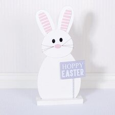 Hoppy Bunny on Base Wall Décor