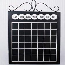 Chalkboard Calendar Wall Décor