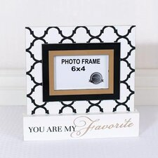 You are My Favorite on Base Picture Frame Wall Décor