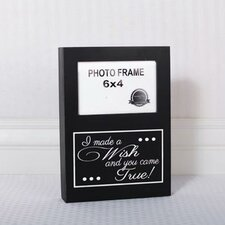 I Made a Wish Picture Frame Wall Décor