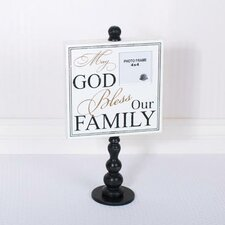 May God Picture Frame Wall Décor
