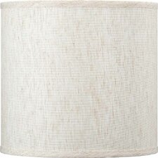 """10"""" Linen Drum Wall Sconce Shade"""