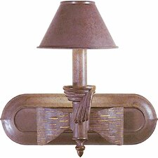 Toltec 1 Light Bathroom Wall Sconce