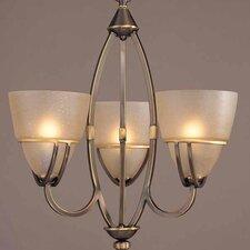 Gallery 3 Light Chandelier or Semi Flush Ceiling Mount