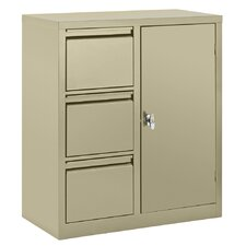 3-Drawer Filing Combo Cabinet