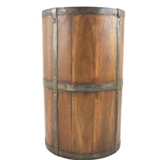 Rustic Wood Umbrella Stand