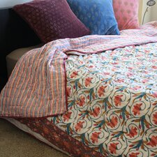 Organic Cotton Block Print Quilt