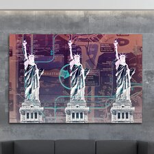 Boomstar Subway Reverse Graphic Art on Canvas