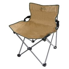 Portable Low Backrest Armless Folding Chair