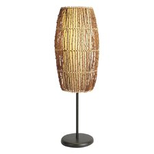 """Rattan 31"""" H Table Lamp with Novelty Shade"""