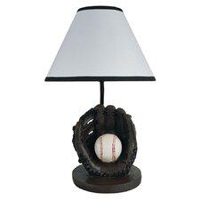 "Baseball 9"" H Table Lamp with Empire Shade"