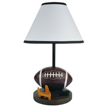 """Football 9"""" H Table Lamp with Empire Shade"""