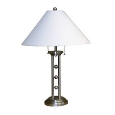 """Metal Stylish 28"""" H Table Lamp with Empire Shade"""