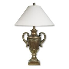 """Trophy Cup 32"""" H Table Lamp with Empire Shade"""