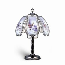 "Lighthouse Touch 23.5"" H Table Lamp with Novelty Shade"