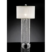 "Simple Elegance 29.75"" H Table Lamp with Drum Shade"