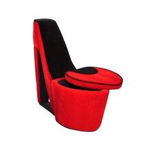 High Heel Storage Side Chair